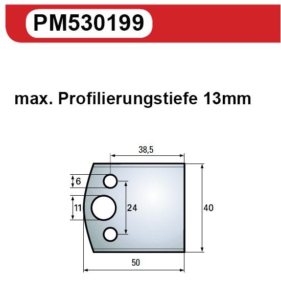 Universal Messerblankett 199