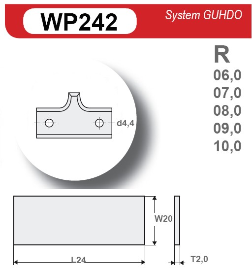 HM-Radiusmesser symetrisch Z2