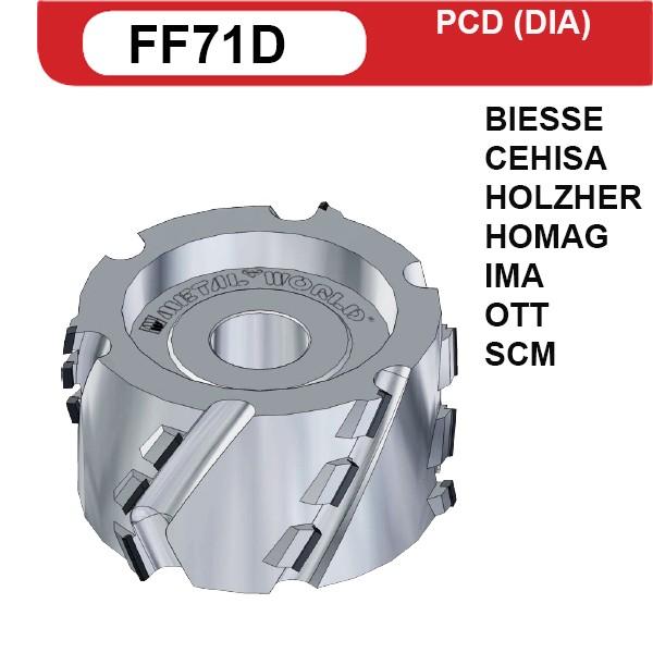 PCD Fügefräser 30°