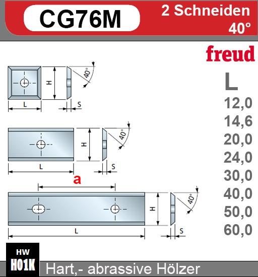 HW-Wendeplatten Z2 (12mm)