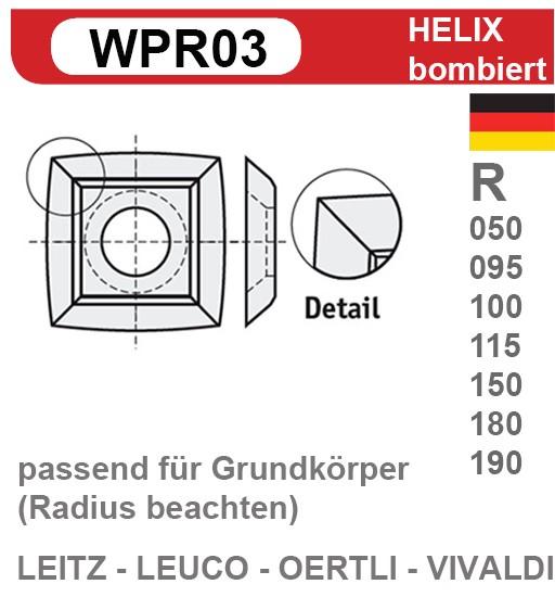 Helix Wendeschneidplatten Z4