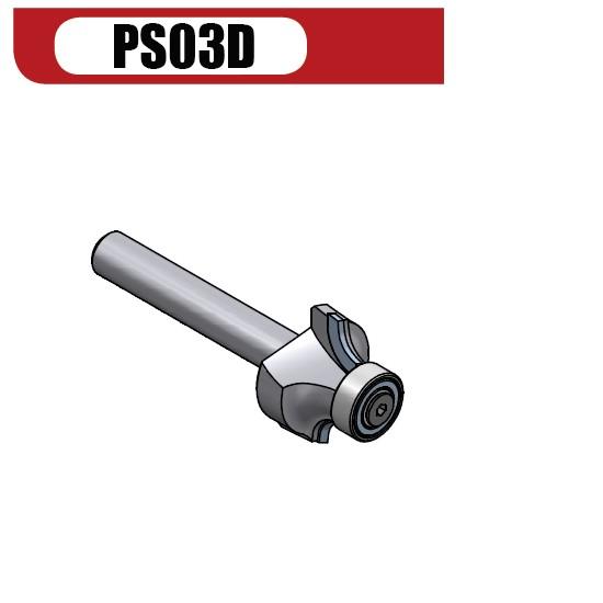 PCD Abrundfräser R4/R5 - Z2