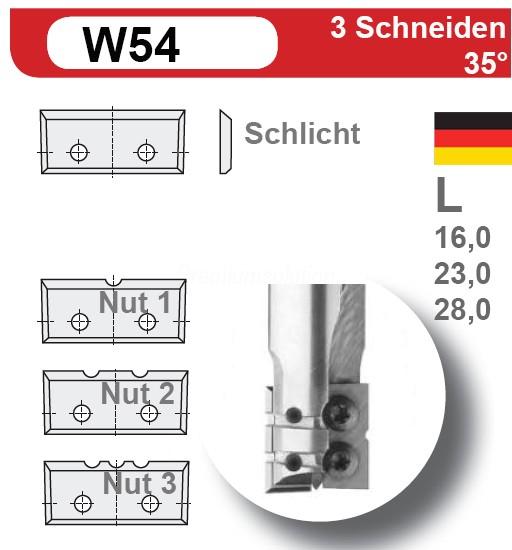 HW-Wendeplatten Z3 (7mm)